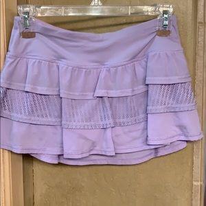 Adorable Lilac Running Skirt - Lululemon